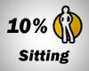 10% Sitting Spot