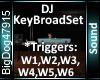 [BD]DJKeybroadSet