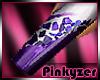 P! ABSTRACT Purple Long