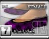 [BE] PurplePlaid|Flats F