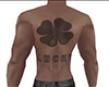 Lucky BACK ONLY Tattoo M