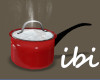 ibi Boiling Pot Red