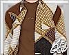 "Ⱥ"" Brown Fall Shirt"
