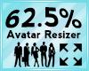 Avatar Scaler 62.5%