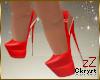 cK Jinie Pumps Red