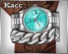 *Kc*Bling silver watch b