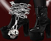 A! Skull Ankle Chain