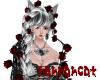 ☆red rose black