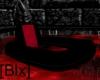 [Blx]Dark Red pool chair