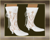 VICTORIAN WHITE BOOTS