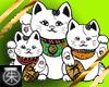 }T{ asian luck kitties