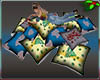 Xmas Pile Pillows 5pos