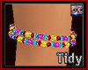 Charm Bead Anklet [T]