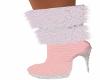 SB-Santa Baby Boots-Pink