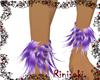 Unicorn Ankle Fur Tuffs