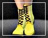 Yellow Lolita Boots