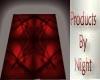 [N] Blood Red 2 Sq. Rug