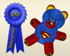 supergirl teddy bear RH