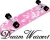 Pink Bubbles Skateboard