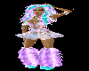 Candy Raver Purple Boots