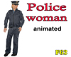 POLICE WOMAN animated