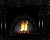 B , fireplace