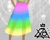 [XO] Rainbow Skirt
