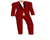 Red/W Full Suit