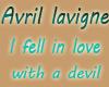 in love with devil