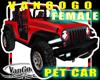 VG RED 4x4 SUV Avi CAR F