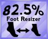 Foot Scaler 82.5%