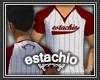 (e) Red Baseball Tee