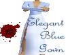 Elegant Light Blue Gown