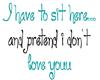 *so* pretend..love you