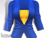 ! L! Blue Yellow Jacket