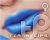 TP Tiana Lips - Azure