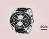 Black Designer Watch