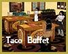 Taco Buffet Selection