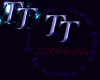 TT 20K credit Sticker