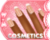 french nails glitter