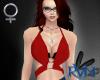 [RVN] Crimson Bra Halter