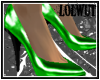 :D Green Heels