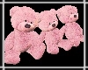 Teddy Trio Pink
