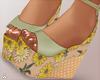 $ Spring Floral Heels