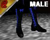 *APo* Boots Bat Blue