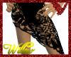 WF>Lace Sarong Black