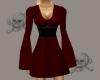 .X. Pirate Dress Red