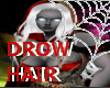 white Drow Hair - bundle