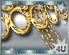 Gold Tassel Belt