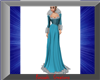 Winter Blues Gown